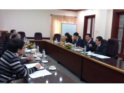 SIPO's High-Ranking Delegation visit to NOIP